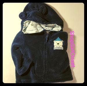 Blue Polar Bear Sweater  size 3-6M